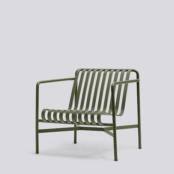 Palissade Lounge Chair Low Outdoor (different colours available)