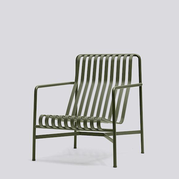 Palissade Lounge Chair High Outdoor (different colours available)