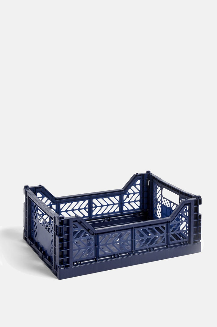 Navy Crate Medium