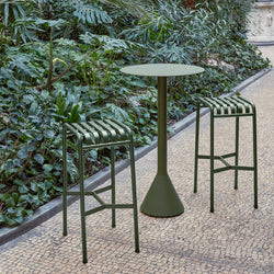 Palissade Outdoor Cone Bar Table (different colours available)
