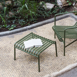 Palissade Outdoor Ottoman (different colours available)