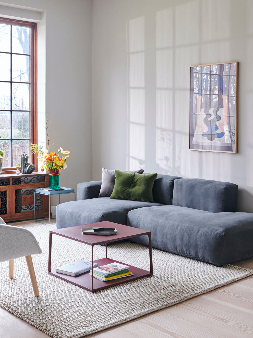 Mags Soft 2.5 Seater Low Armrest Sofa Combination 3 Left End (from £2,198)