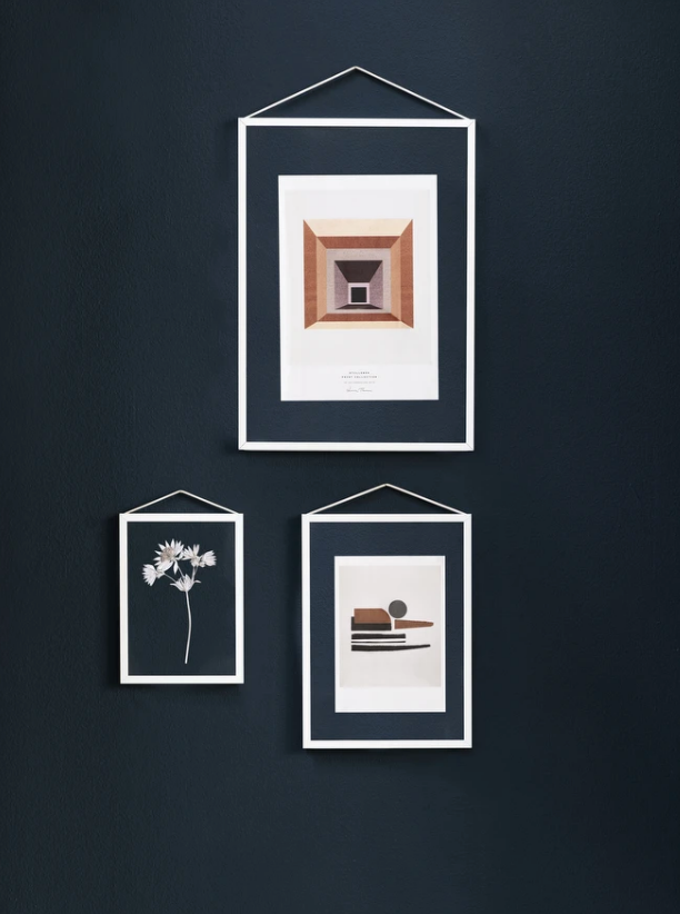 White Frame (3 sizes available)