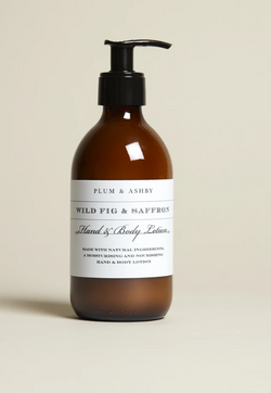 Wild Fig & Saffron (Hand & Body Lotion)