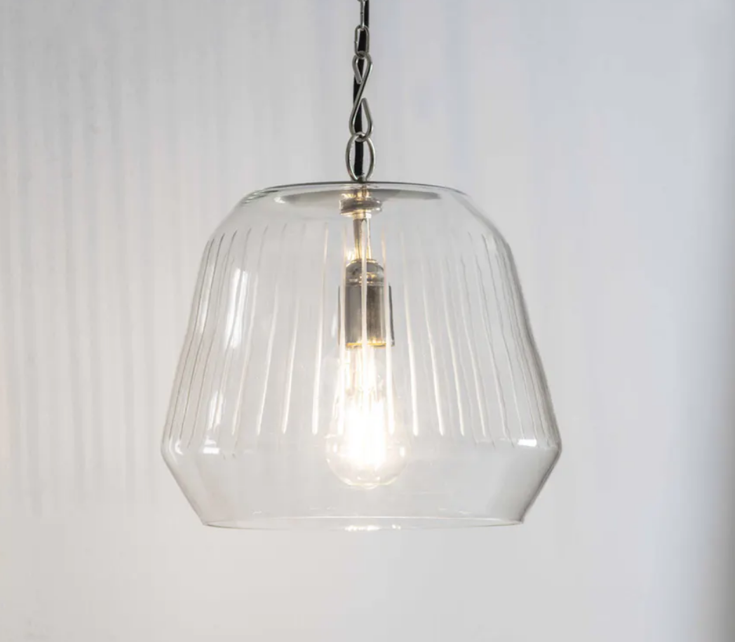 Etched Hanging Lamp
