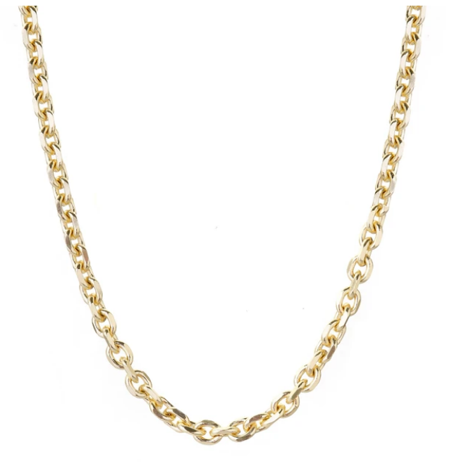 Fame Necklace Gold