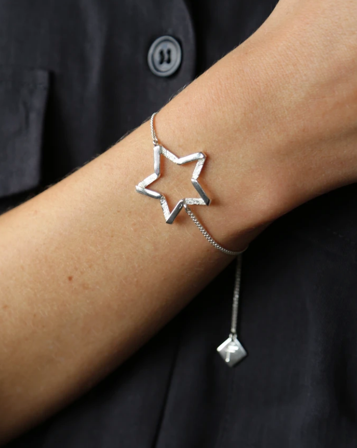 North Star Bracelet Silver
