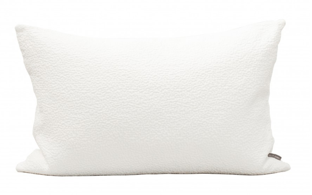 Textured Cushion White