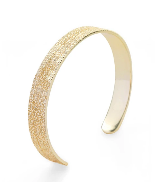 Breathe Bangle Gold