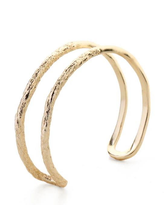 Silt Bangle Gold