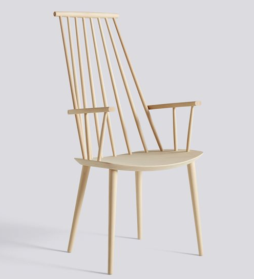 Spindle High Back Chair