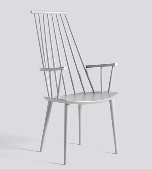 Spindle High Back Chair (diff colours available)