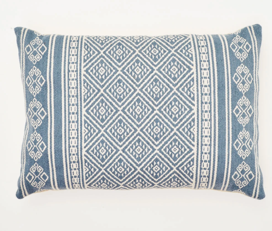 Navy Kalka Cushion