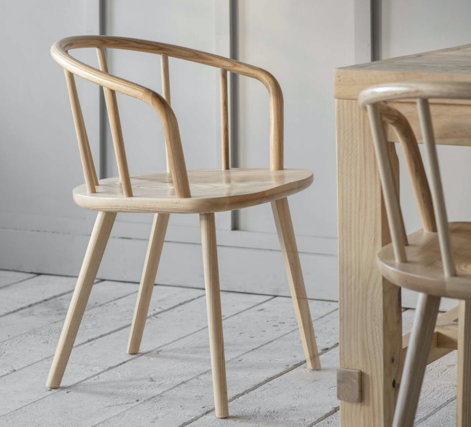Carver Chair (Natural or Grey)