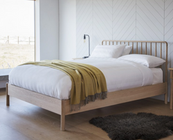 Scandi Spindle Bed Natural (3 sizes)