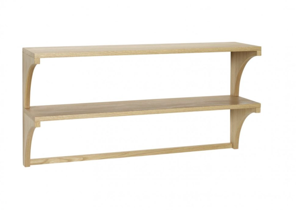 Double Oak Shelf (reduced)