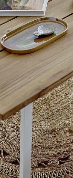 Riba Dining Table (white legs)