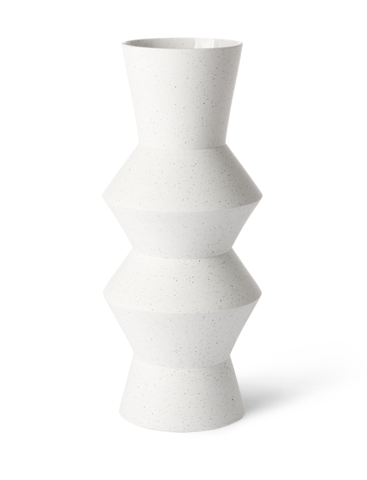 Speckled Vase Angular L