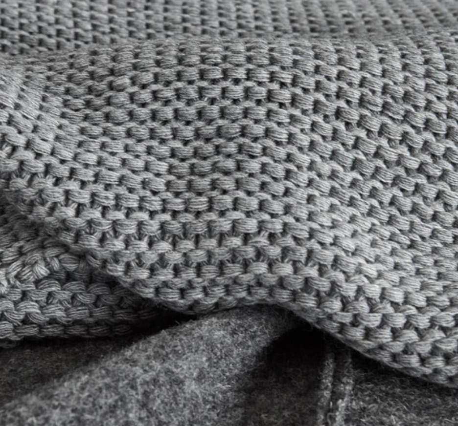 Warm Feeling Blanket Grey