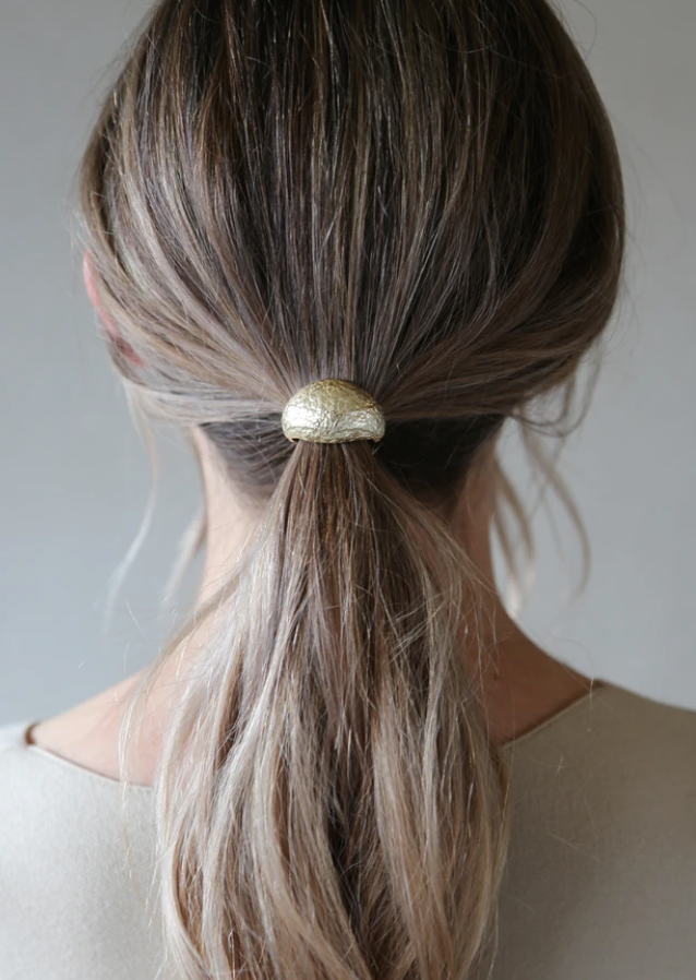 Dome Hairband (Gold)
