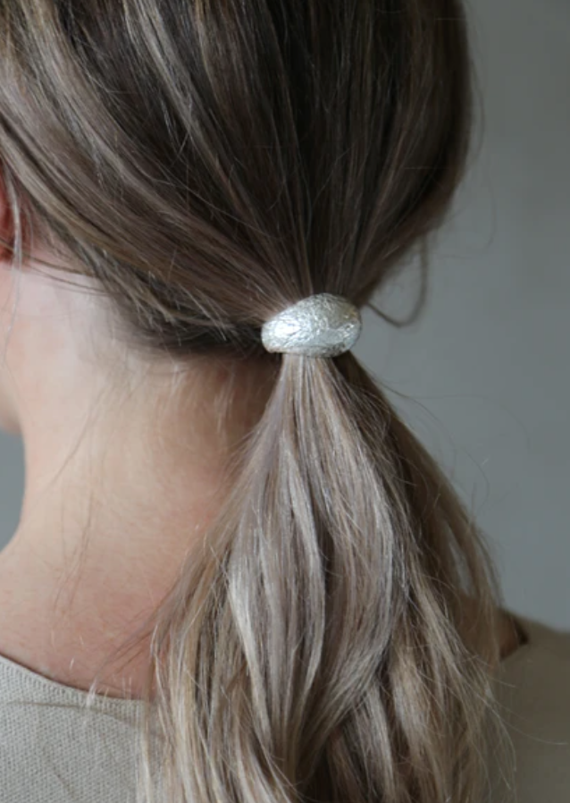 Dome Hairband (Silver)