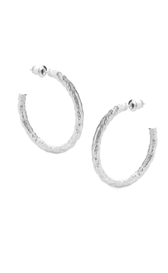 Texture Earrings (Silver)