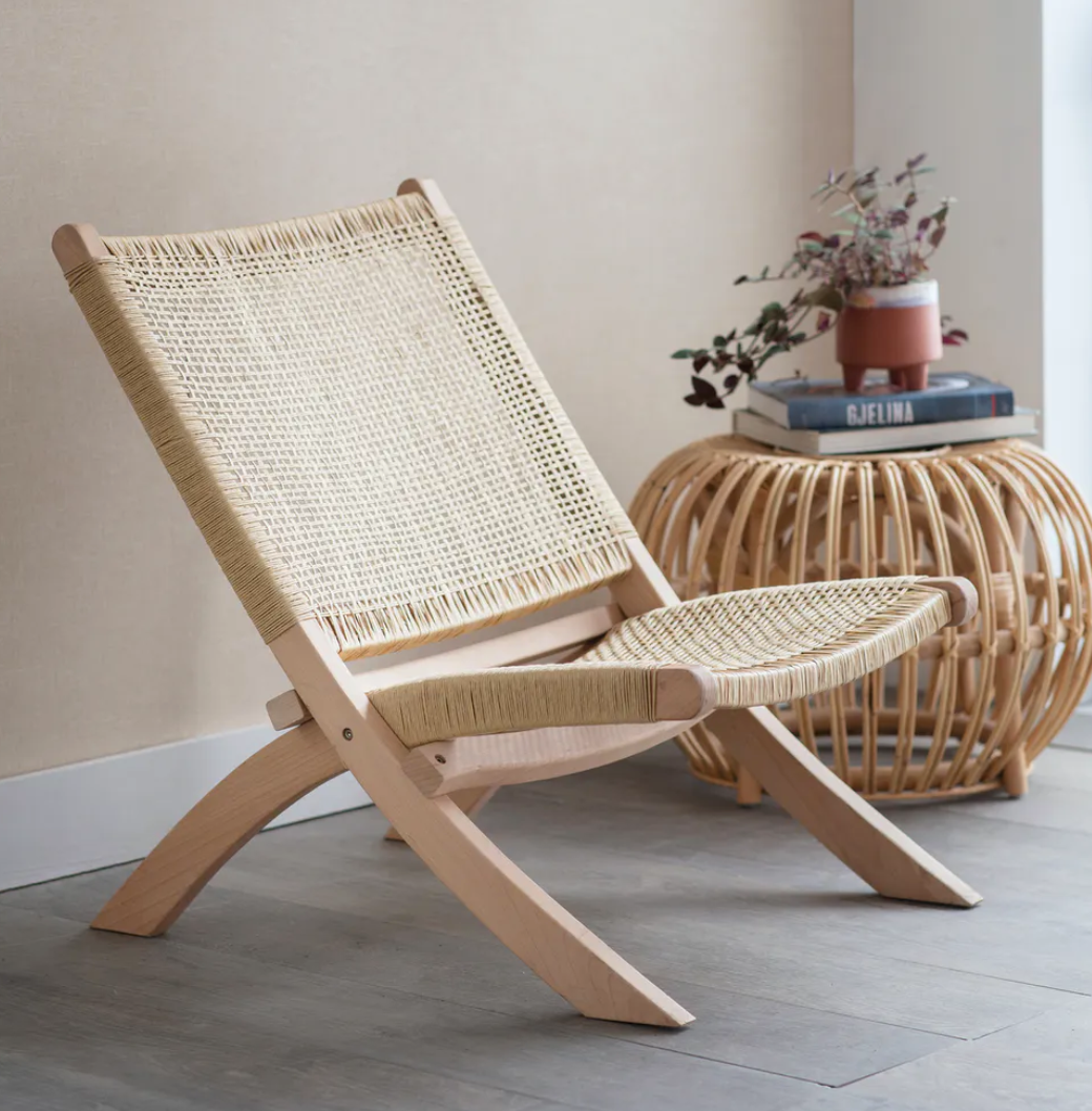 Rattan Stool / Table