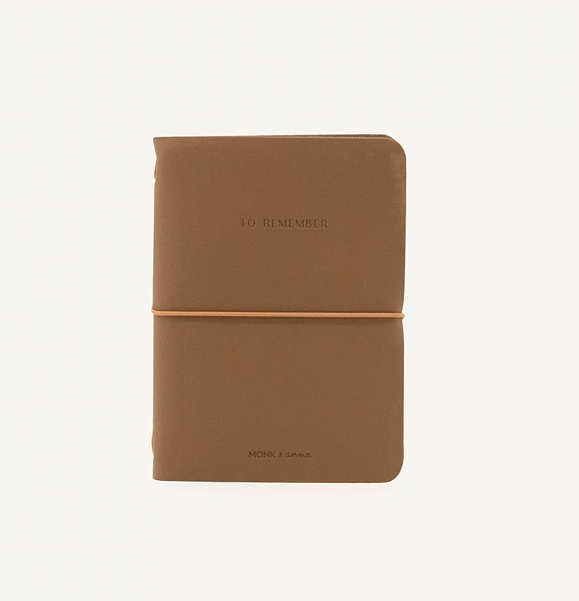 Vegan Leather Notebook (Cacao)