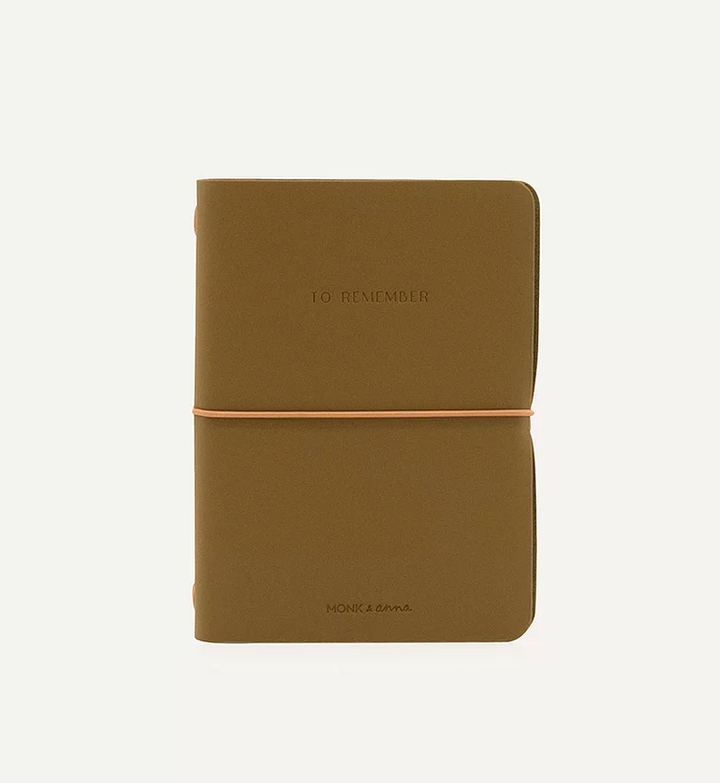 Vegan Leather Notebook (Olive)