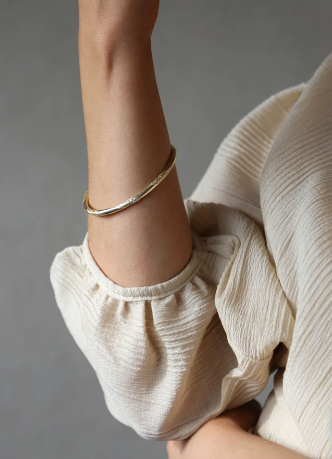 Rope Bangle Gold