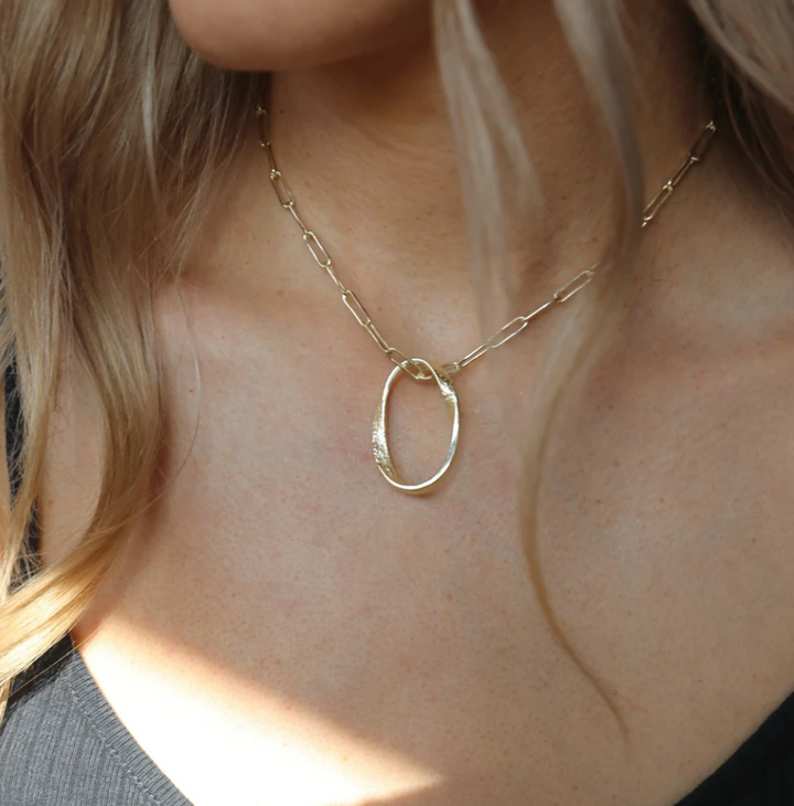 Aspen Necklace Gold