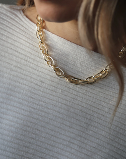 Ria Necklace Gold