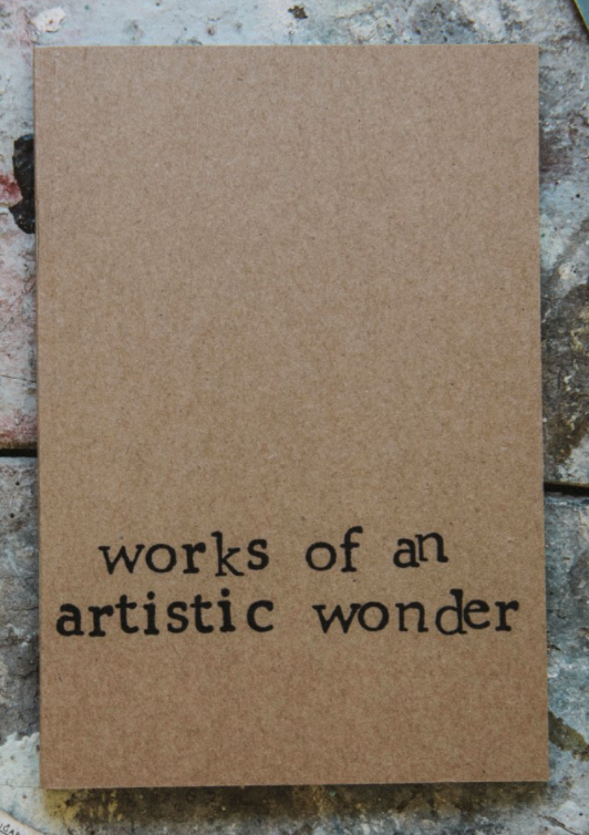 Works of An Artistic Wonder Notebook