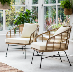 Outdoor Windsor Style Chairs (sold as a pair)