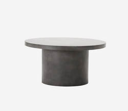 Round Concrete Table (Indoor/Outdoor)