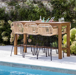 Drinks Table Bar Outdoor (Two Sizes)