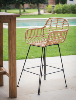 Outdoor Bar Stools With Arms