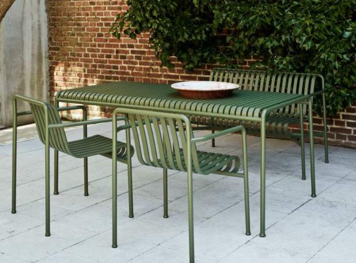 Palissade Outdoor Table Large (different colours available)