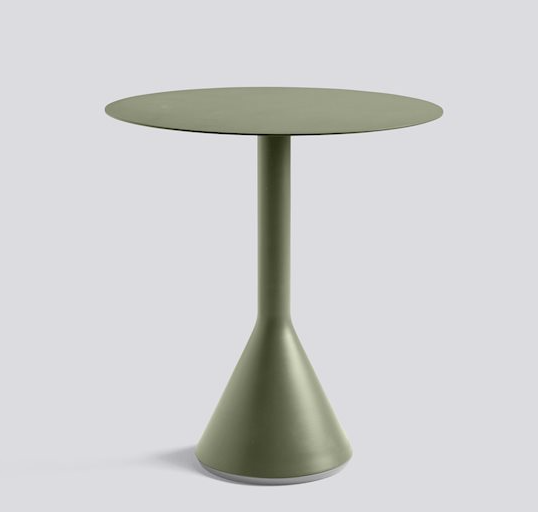 Palissade Outdoor Cone Table Round (different sizes/colours available)