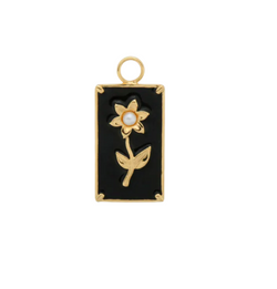 Marigold Flower Necklace Charm