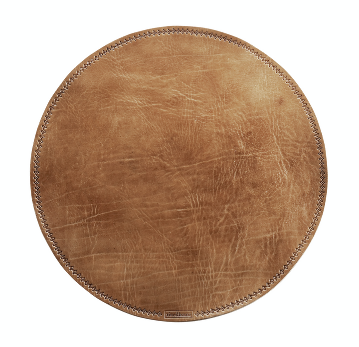 Brown Leather Placemat