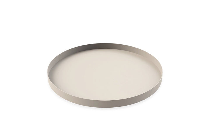 Metal Tray Sand 40cm Round