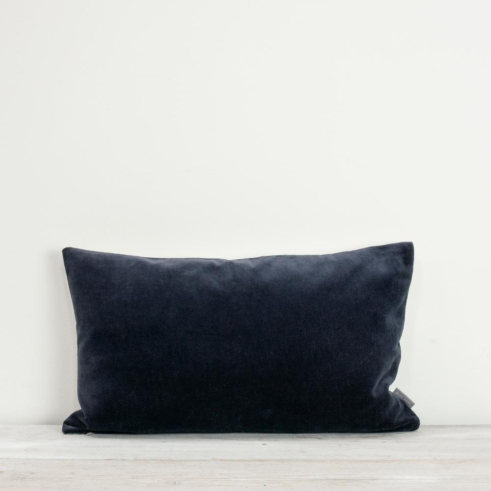 Misi Indigo Velvet Cushion