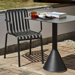 Palissade Outdoor Cone Table Square (different colours available)