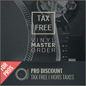 AUDIO MASTERING FOR VINYL ( TAX-FREE I H.T )