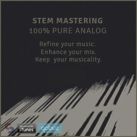 analogue stem mastering mixing stems analogique
