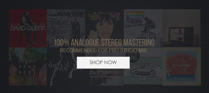 analogue stereo mastering services