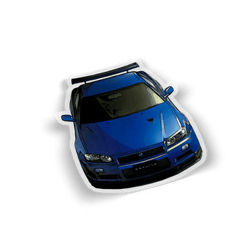 R34 Toonified Sticker- Front