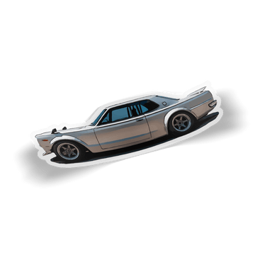 Hakosuka Toonified Sticker