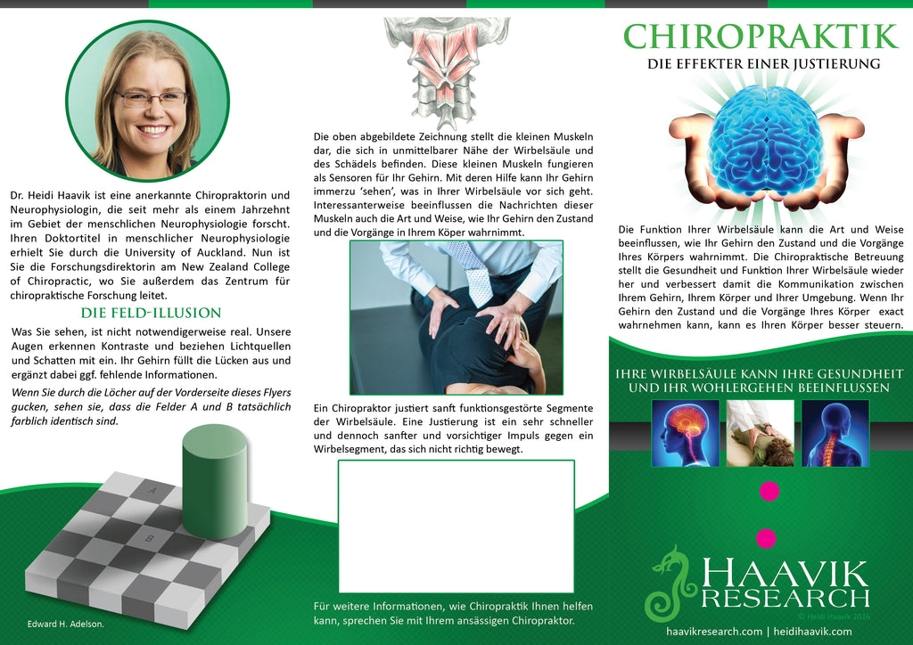 Brochure - Effects of an Adjustment